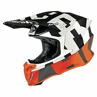Airoh Twist 2.0 Frame Motocross & ATV Helmet Orange/Matt