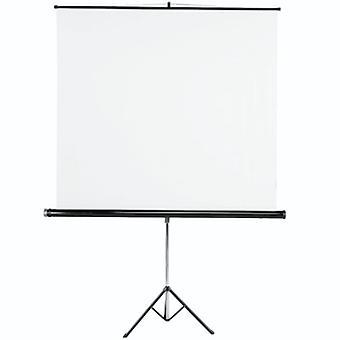 Hama Stativ Projektionswand, 155 x 155 cm, weiß