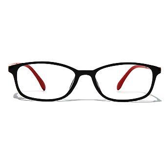 Little Starr Blue Light Glasses - Everyday Lens (red frame)