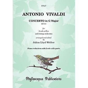 Vivaldi: Concerto In G Major Rv545 [Piano Reduction]