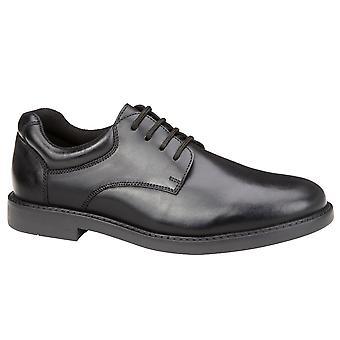 Hush Puppies jongens Tim School schoenen zwart F montage