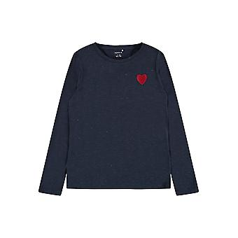 Name-it Meisjes Tshirt Oharta Dark Sapphire