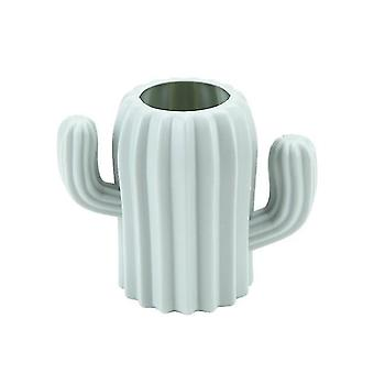 White Imitation Ceramic Plastic Pot Basket Nordic Decoration Vases