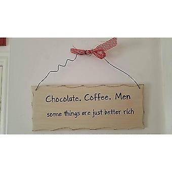 Noget andet chokolade, kaffe, mænd hængende Tilmeld