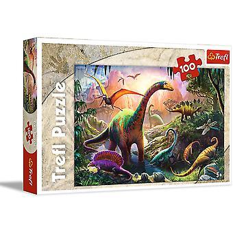 Dinosaur Jigsaw Puzzle 100 Pieces