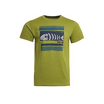 Bones Eco Merket Grafisk T-skjorte Marine