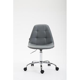 Toimistotuoli - Pöytätuoli - Kotitoimisto - Moderni - Harmaa - Metalli - 47 cm x 56 cm x 79 cm