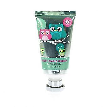 Hand Cream IDC Institute Owl Lemon Verbena (30 ml)