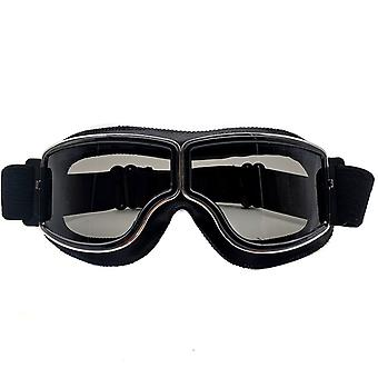 Gafas retro Gafas de cuero para motocicleta 4