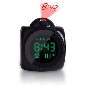 Projection Alarm Clock Voice Alarm Clock With Digital Lcd Screen