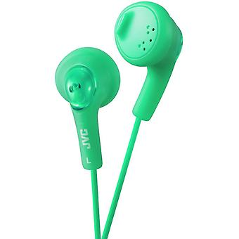 JVC Gumy Bass Boost Stereo Headphones for iPod iPhone MP3 and Smartphone - Pistachio Green