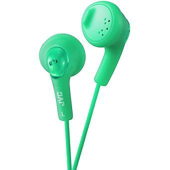 JVC Gumy Bass Boost stereohoofdtelefoon voor iPod iPhone MP3 en Smartphone - pistache groen