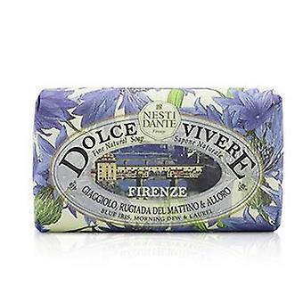 Nesti Dante Dolce Vivere belle sapone naturale - Firenze - Blue Iris Morning Dew & Laurel - 250g/8.8 oz