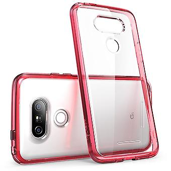 LG G5 Case, i-Blason, Halo Series Bumper Case Cover for LG G5 2016-Clear/Pink