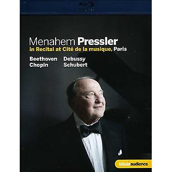 Menahem Pressler Piano Recital [BLU-RAY] USA import