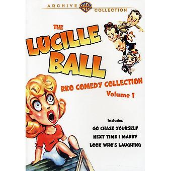 Lucille Ball - Lucille Ball Rko Comedy Collection: Volume 1 [DVD] USA import