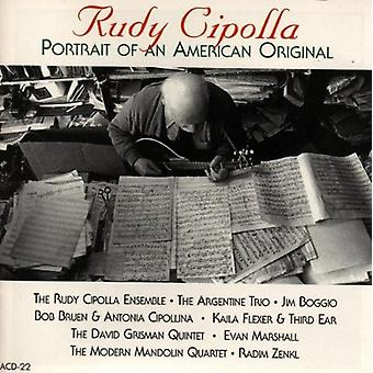 Rudy Cipolla - Portrait of an American Origin [CD] USA import