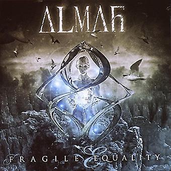 Almah - hauras tasa [CD] Yhdysvallat tuoda