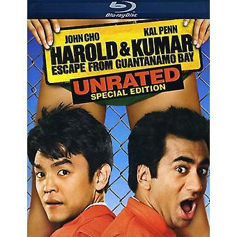 Harold & Kumar Escape From Guantanamo Bay [Blu-ray] USA import