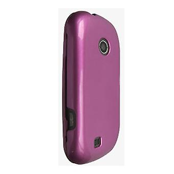 5 Pack -Verizon Hard Cover Snap On Case for LG Cosmos 2 VN251 - Pink