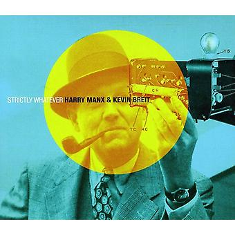 Harry Manx & Kevin Breit - Strictly Whatever [CD] USA import