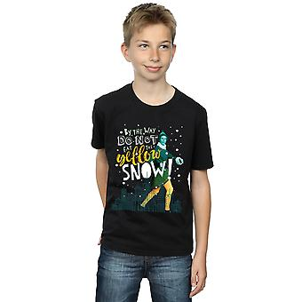 Elf Boys Yellow Snow T-Shirt
