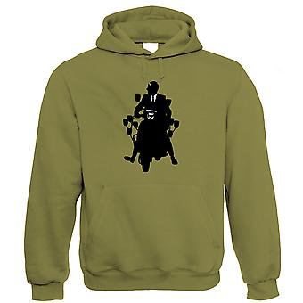 Scooter Hoodie - Northern Soul Mod Motor Gift Dad Him Son Grandad Keep The Faith