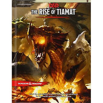 Dungeons and Dragons Tyranny of Dragons The Rise of Tiamat - Book