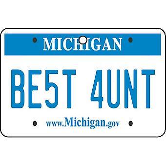 Michigan - bedste tante licens plade bil luftfriskere