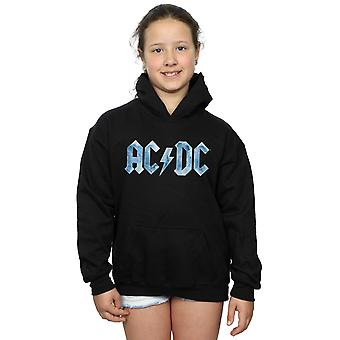 AC/DC Girls Blue Ice Logo Hoodie