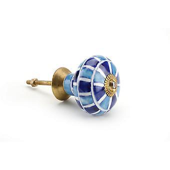CGB 礼品灯/深蓝色马赛克陶瓷抽屉手柄