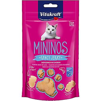 Vitakraft Snack Minions with Salmon Pieces (Cats , Treats , Chewy & Softer Treats )