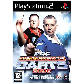 PDC World Championship Darts 2008 (PS2) - New Factory Sealed