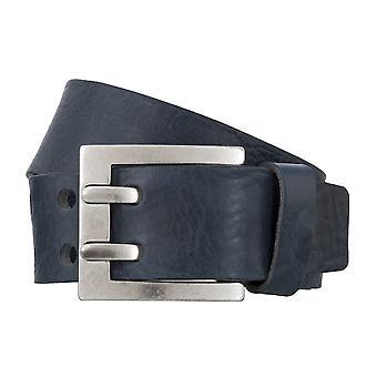 BERND GÖTZ belts men's belts leather belt walking leather blue 4838
