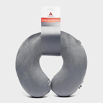 Nouveaux techniques Voyage Sleeping Memory Foam Neck Pillow Grey