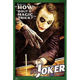 Batman, Joker hoe zit een magische truc Poster Poster afdrukken