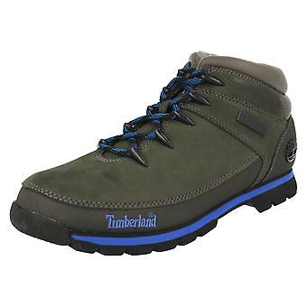 Herren Timberland Boots Euro Sprint 61557 - grau/grün - UK Größe 9 - EU Größe 43,5 - US Größe 9,5 Fuß