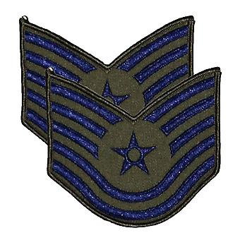 Ranked MOD Air Force Sew On Military Patch / Badge
