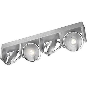 LED plafond projecteur 24 W EEC: LED (A ++ - E) chaud blanc, éclairage Philips Ledino 53154/48/16 en Aluminium