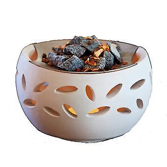 Aroma lamp fragrance vital stove Sauna stones fragrance blend tealight warmer large