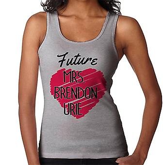 Future Mrs Brendon Urie Women's Vest