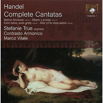 G.F. Handel - Handel: Complete Cantatas, Vol. 1 [CD] USA import