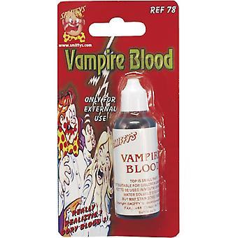 Upíří krev na Halloween umělá krev 28 ml