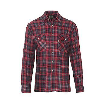 Champion Herren Country Killbeggan Casual Langarm Shirt M Wein