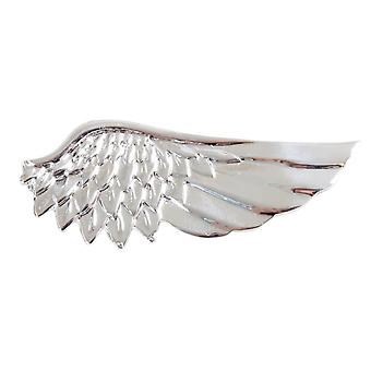 Knightsbridge Krawatten Angel Wing Krawattenklammer - Silber