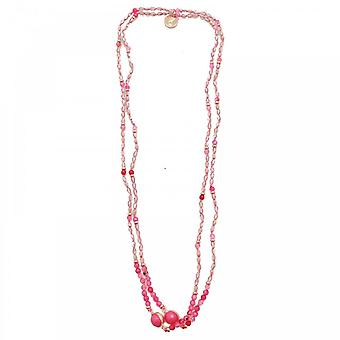Bcharmd Semi Precious Quartzite Agate Necklace