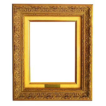 21x27 cm or 8x10 inch, photo frame in gold