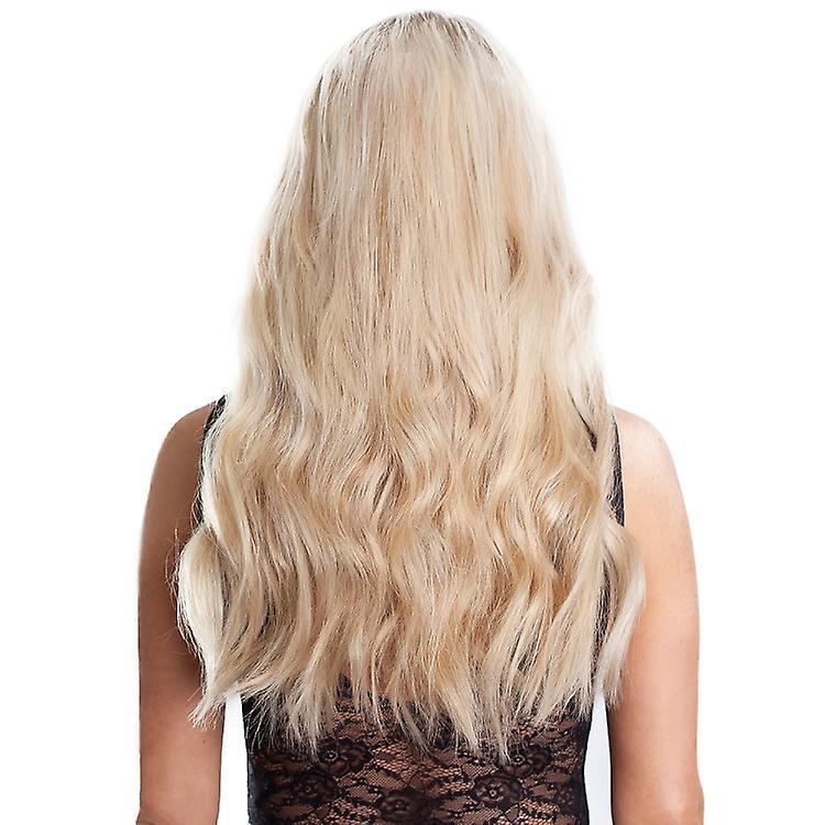 #60/22/18 California Blonde met en évidence la tête pleine - Clip-in Hair Extensions-