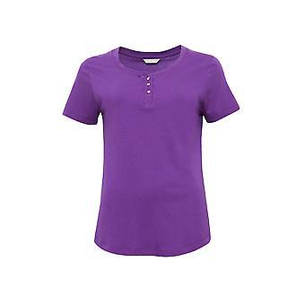 Cyberjammies 4100 女性アンドレア ・紫のパジャマ トップ