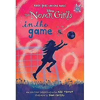 Jamais Girls #12: dans le jeu (Disney: les filles jamais) (renforcement de pierres livres)
